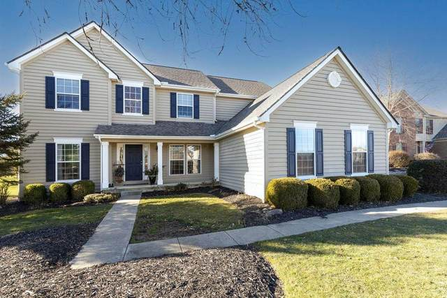 7580 Park Bend Drive, Westerville, OH 43082 (MLS #221002439) :: The Willcut Group