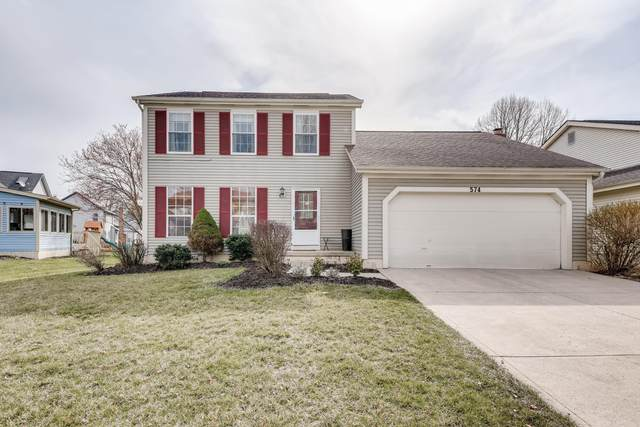 574 Woodbay Drive, Columbus, OH 43230 (MLS #221008427) :: MORE Ohio
