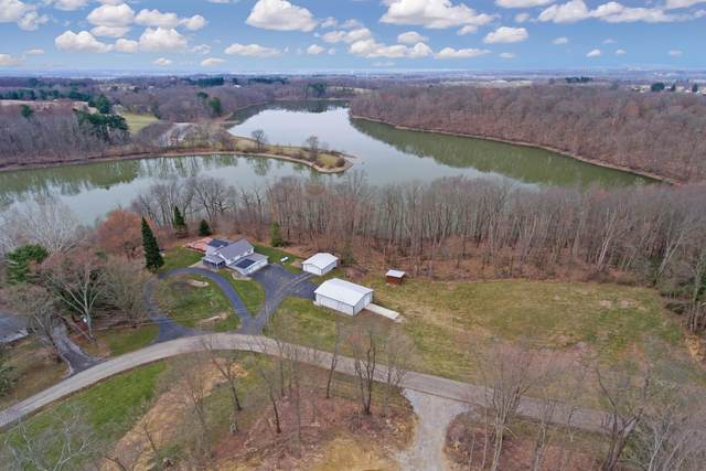 12418 Hilltop Drive, Fredericktown, OH 43019 (MLS #221008933) :: The Willcut Group