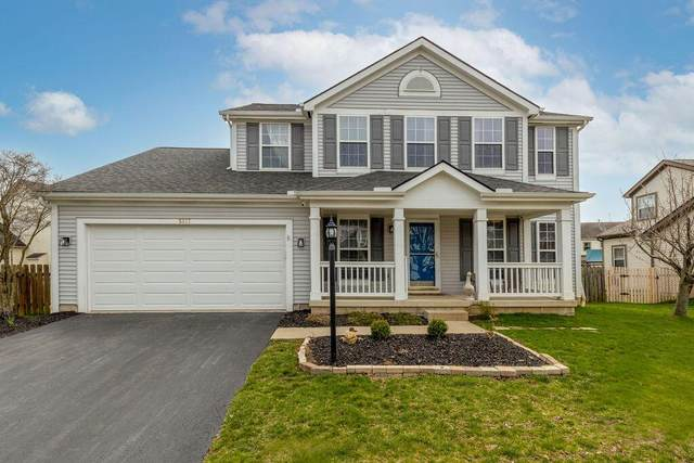 5617 Jennybrook Lane, Hilliard, OH 43026 (MLS #221010265) :: The Raines Group
