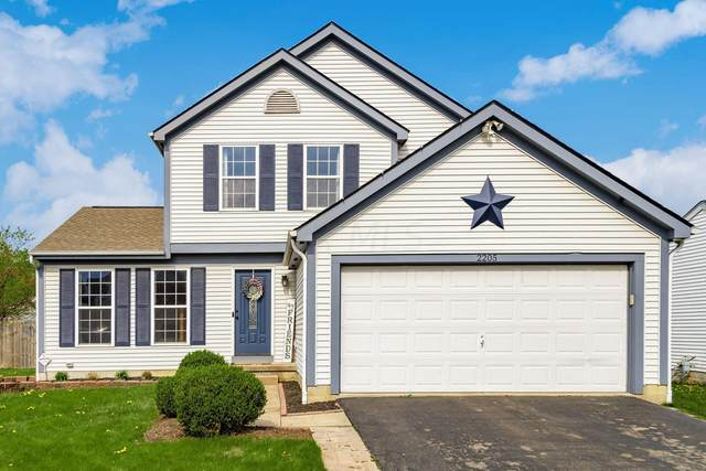2205 Brookbank Drive, Grove City, OH 43123 (MLS #221011343) :: The Raines Group