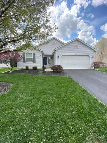 1521 W Quail Run Drive, Newark, OH 43055 (MLS #221011991) :: The Willcut Group