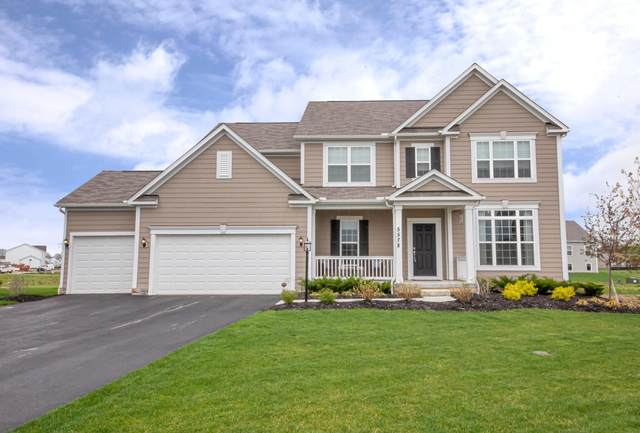 5578 Whitestone Trace, Powell, OH 43065 (MLS #221012535) :: The Raines Group