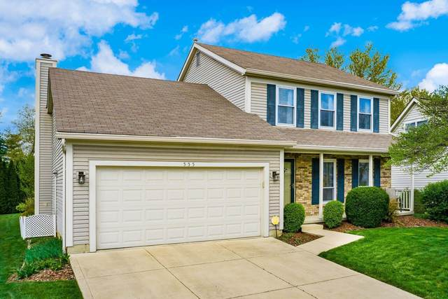 555 Woodbay Drive, Gahanna, OH 43230 (MLS #221012633) :: Greg & Desiree Goodrich | Brokered by Exp