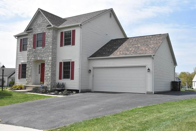 7681 Hilliard Court, Canal Winchester, OH 43110 (MLS #221012811) :: The Willcut Group