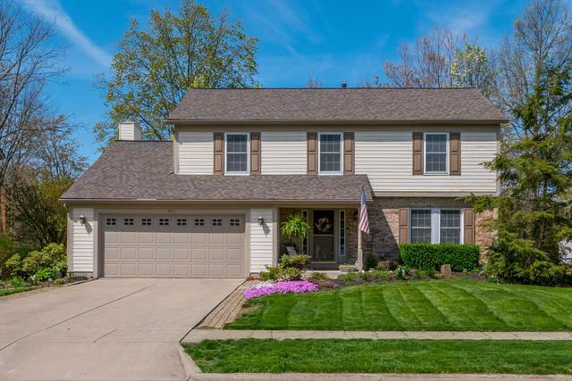 455 Glenside Lane, Powell, OH 43065 (MLS #221013232) :: The Willcut Group