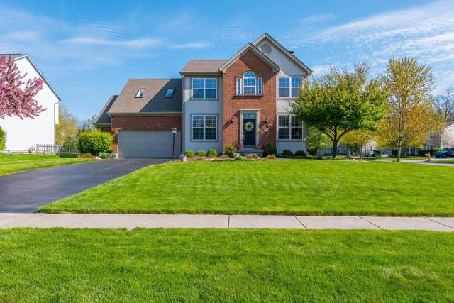 2148 Bryton Drive, Powell, OH 43065 (MLS #221013478) :: The Raines Group