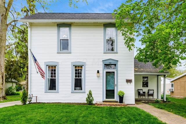 154 E Park Street, Westerville, OH 43081 (MLS #221013636) :: Jamie Maze Real Estate Group