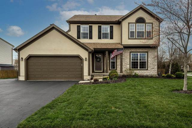 5913 Heather Meadow Drive, Hilliard, OH 43026 (MLS #221013770) :: The Raines Group