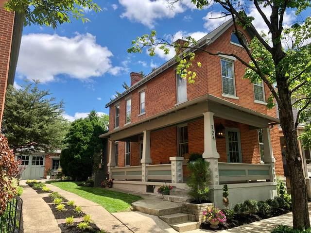 724 Jaeger Street, Columbus, OH 43206 (MLS #221015098) :: Jamie Maze Real Estate Group