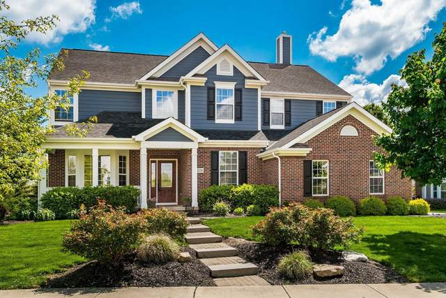 1108 Carriage Valley Drive, Powell, OH 43065 (MLS #221015428) :: The Gale Group