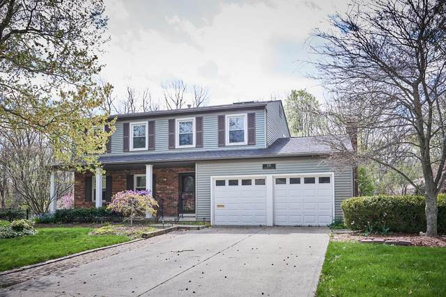 691 Timberlake Drive, Westerville, OH 43081 (MLS #221015637) :: The Jeff and Neal Team | Nth Degree Realty