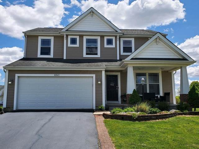 6843 John Drive, Canal Winchester, OH 43110 (MLS #221015659) :: Exp Realty