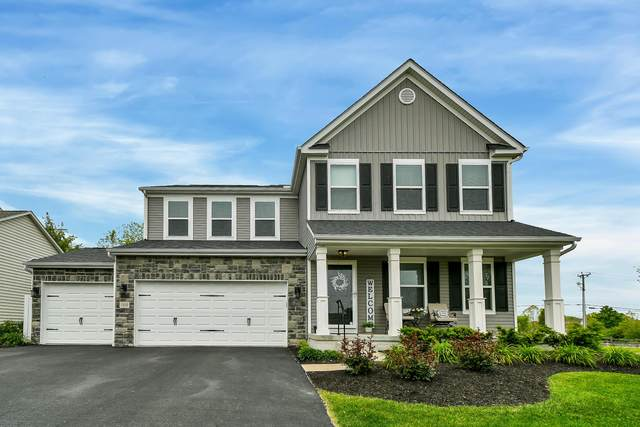 1519 Bent Maple Drive, Blacklick, OH 43004 (MLS #221016803) :: The Tobias Real Estate Group