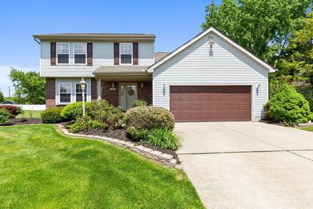 340 Stonebridge Boulevard, Pickerington, OH 43147 (MLS #221016843) :: The Tobias Real Estate Group