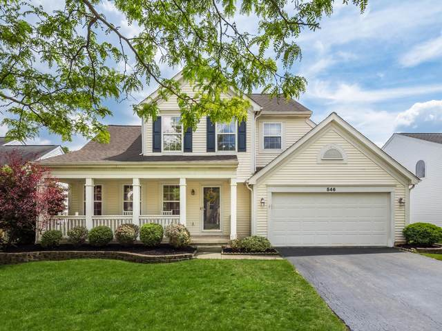 546 Streamwater Drive, Blacklick, OH 43004 (MLS #221016985) :: Exp Realty