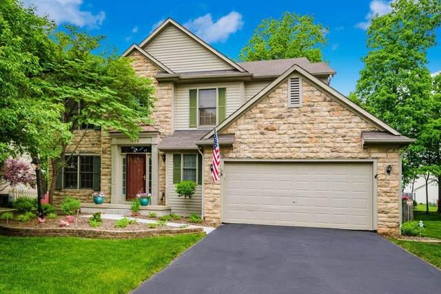 1873 Deer Crossing Drive, Marysville, OH 43040 (MLS #221018639) :: The Tobias Real Estate Group