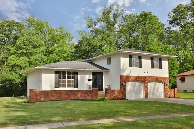 419 Lyncroft Drive, Gahanna, OH 43230 (MLS #221018809) :: Ackermann Team