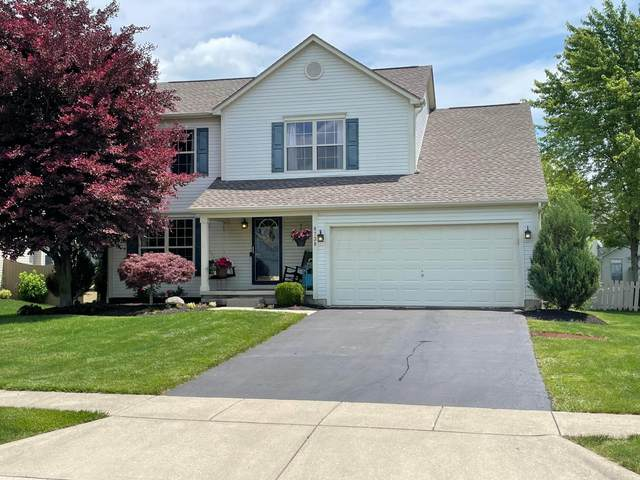 8738 Sedona Drive, Lewis Center, OH 43035 (MLS #221019715) :: The Tobias Real Estate Group