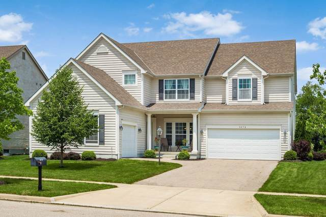 3870 Hickory Rock Drive, Powell, OH 43065 (MLS #221020159) :: The Tobias Real Estate Group