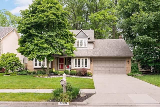 696 Big Rock Drive Drive, Westerville, OH 43082 (MLS #221020947) :: Exp Realty