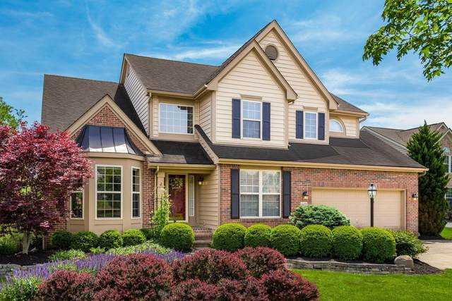 4677 Houston Pond Drive, Powell, OH 43065 (MLS #221021242) :: The Tobias Real Estate Group