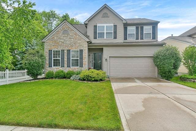 447 Stone Shadow Drive, Blacklick, OH 43004 (MLS #221021324) :: The Holden Agency
