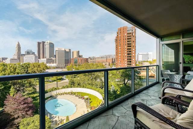1 Miranova Place #610, Columbus, OH 43215 (MLS #221021500) :: Jamie Maze Real Estate Group