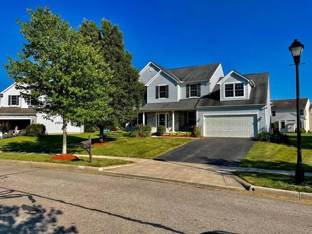 6267 Lafferre Lane, Hilliard, OH 43026 (MLS #221021709) :: The Tobias Real Estate Group