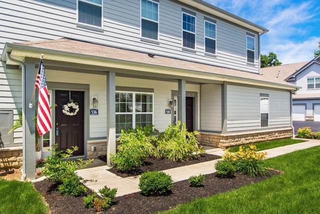 536 Wintergreen Way, Lewis Center, OH 43035 (MLS #221021732) :: ERA Real Solutions Realty