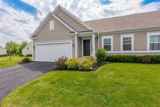 4315 Ahwick Green #38, Hilliard, OH 43026 (MLS #221021954) :: The Tobias Real Estate Group