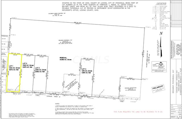 0 Cleveland Road SW Lot #1, Pataskala, OH 43062 (MLS #221023184) :: ERA Real Solutions Realty
