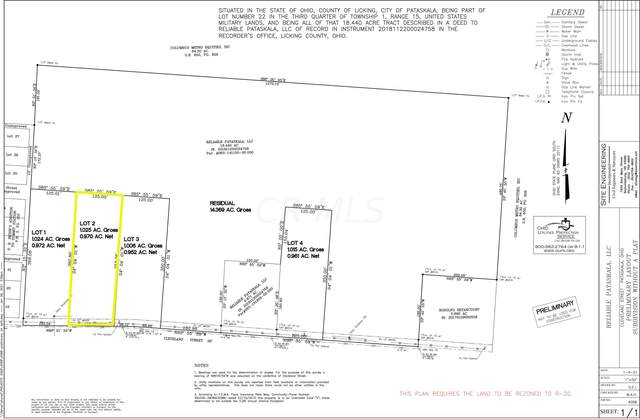 0 Cleveland Road SW Lot #2, Pataskala, OH 43062 (MLS #221023188) :: ERA Real Solutions Realty