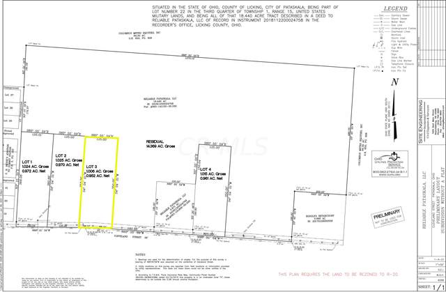 0 Cleveland Road SW Lot #3, Pataskala, OH 43062 (MLS #221023190) :: ERA Real Solutions Realty