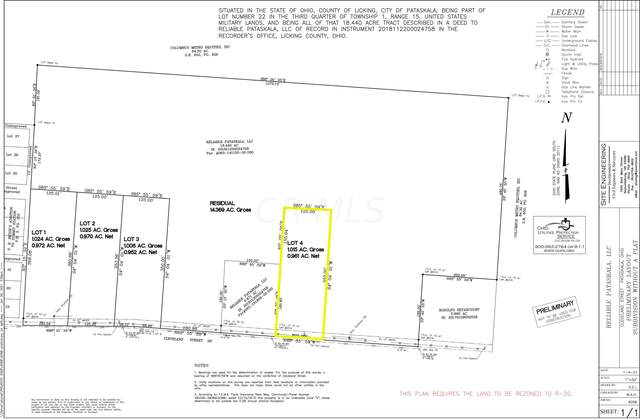 0 Cleveland Road SW Lot #4, Pataskala, OH 43062 (MLS #221023192) :: ERA Real Solutions Realty