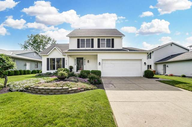 410 Carriage Drive, Plain City, OH 43064 (MLS #221025311) :: Berkshire Hathaway HomeServices Crager Tobin Real Estate