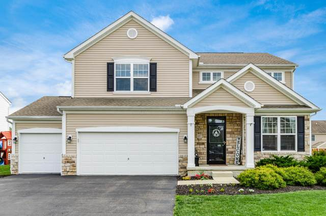 697 Stallion Way, Marysville, OH 43040 (MLS #221025636) :: Berkshire Hathaway HomeServices Crager Tobin Real Estate