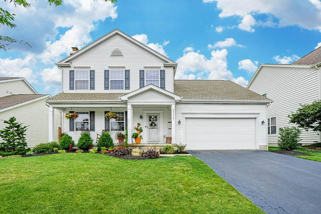 6056 Haybury Drive, New Albany, OH 43054 (MLS #221025696) :: The Raines Group