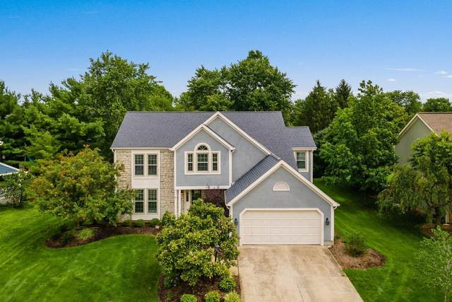 60 Trail Edge Circle, Powell, OH 43065 (MLS #221025743) :: The Raines Group