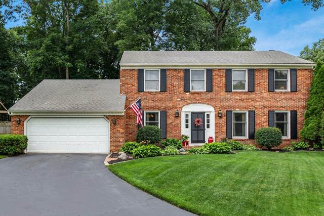 1163 Laureen Court, Westerville, OH 43081 (MLS #221026660) :: CARLETON REALTY