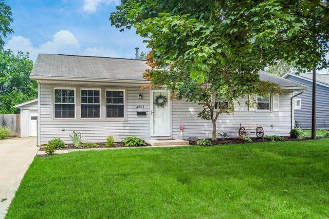 4301 Circle Drive, Hilliard, OH 43026 (MLS #221027742) :: The Holden Agency