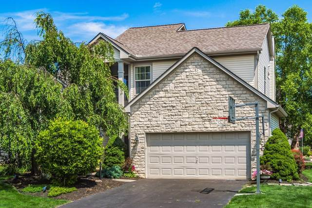 6315 Falcon Chase Drive, Westerville, OH 43082 (MLS #221028125) :: Berkshire Hathaway HomeServices Crager Tobin Real Estate