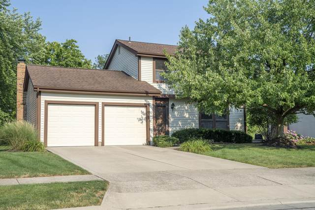 260 Baker Lake Drive, Westerville, OH 43081 (MLS #221029188) :: The Raines Group