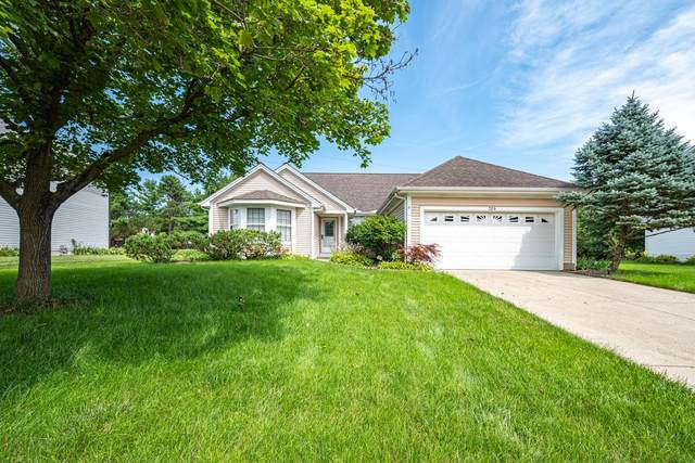 284 Burns Drive, Westerville, OH 43082 (MLS #221029321) :: The Raines Group