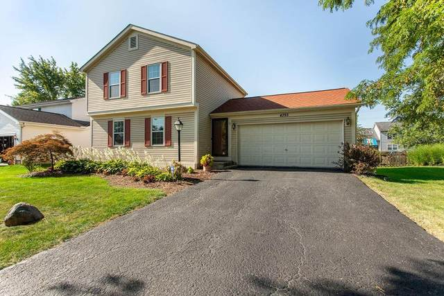 4393 Knickel Drive, Hilliard, OH 43026 (MLS #221033387) :: 3 Degrees Realty