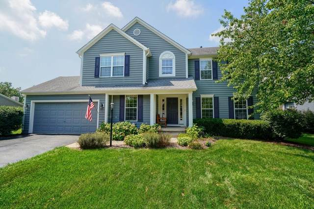 8388 Dunnbury Circle, Powell, OH 43065 (MLS #221034316) :: The Holden Agency