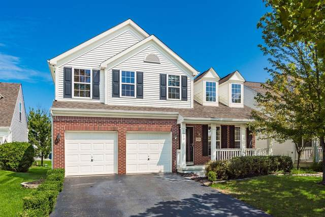 5950 Painted Leaf Drive, New Albany, OH 43054 (MLS #221035039) :: Greg & Desiree Goodrich | Brokered by Exp