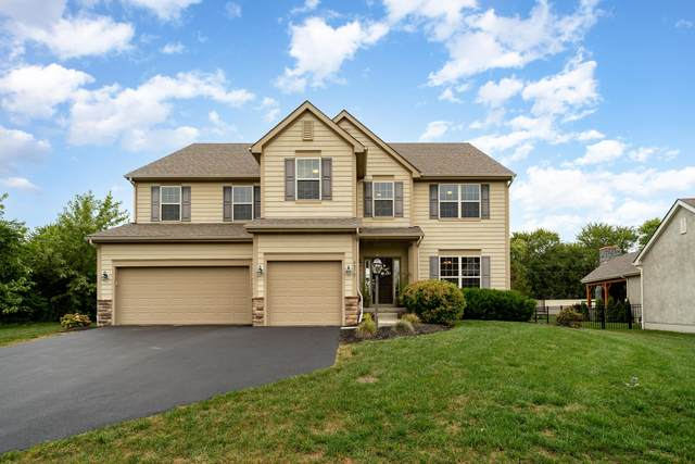 4072 Hickory Rock Drive, Powell, OH 43065 (MLS #221037469) :: The Gale Group