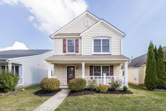 5540 Mossy Creek Drive, Dublin, OH 43016 (MLS #221039536) :: The Tobias Real Estate Group