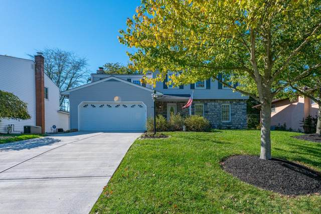 1395 Bonnie Ridge Road, Columbus, OH 43228 (MLS #221041489) :: The Tobias Real Estate Group